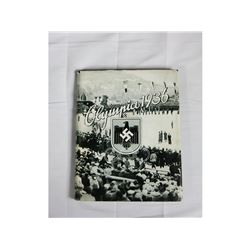 WWII German Olympics 1936 Photo Book