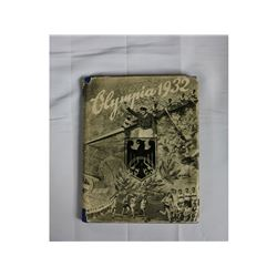 WWII German Olympia 1932 Photo Book