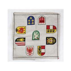Hitler Tablecloth 3rd Inf. Div. Vet Bringback Lot