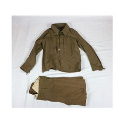 WWII Japanese Flight Jacket and Pants