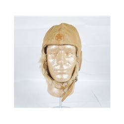WWII Japanese Fur Lined Flight Helmet