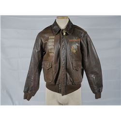 "WWII A2 Flight Jacket ""Macs Goldbricks"""
