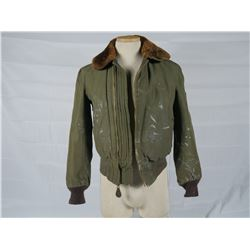 "WWII B-15 ""Richard Ebel"" Flight Jacket"