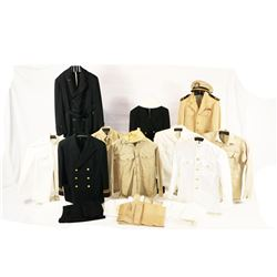 Naval Uniforms of Lt Commander Berning