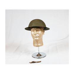 WWII British Mk II Helmet