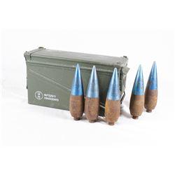 9 Inert Projectiles