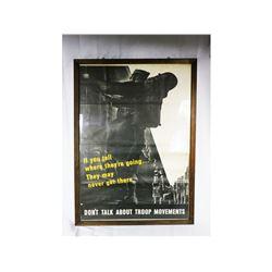 US WWII Propaganda Poster