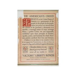 Victory Liberty Bonds Poster