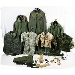 Lot of US Military Clothing and Items