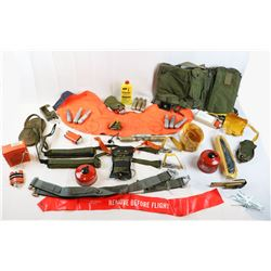 Misc. Lot of US Survival Equipment