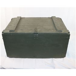 US Military Wooden Storage Crate