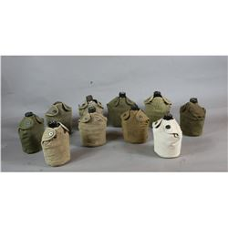 WWII Canteens with Covers (10)