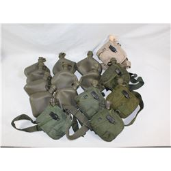 US GI 1 Quart Canteen Lot