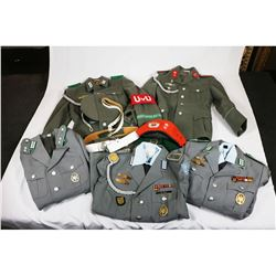 East German Uniform Lot