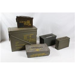 Ammo Can Lot