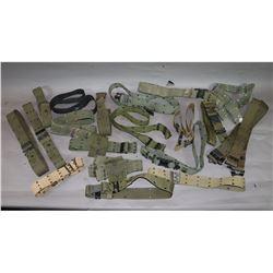 US Pistol Belt Lot