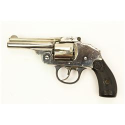 Iver Johnson Hammerless Tip Up 38 Caliber Revolver