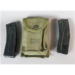 M2 Carbine 30 Mags and Pouch