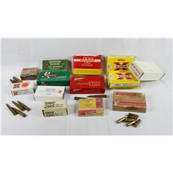 Ammo Lot of Various Pistol/Rifle Calibers
