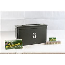 Ammo Can of .22 LR Ammo