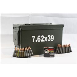 200+ Rounds of 7.62x39 Ammo