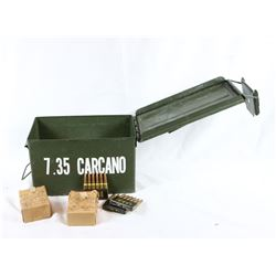 150+ Rounds of 7.35 Carcano Ammo