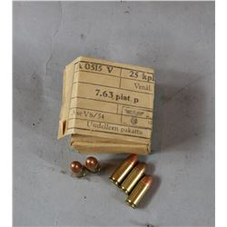 WWII German 25 Cal Ammo Box