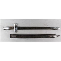 Swiss Model 1911 Sawback Pioneer Bayonet