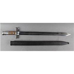 Swiss Model 1911 Pioneer Sawback Bayonet