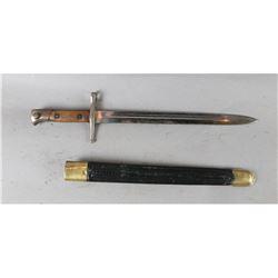 Italian Model 1891 Bayonet