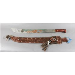 Decorative Aztec Sword