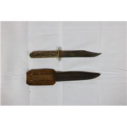 George Butler English Buck Knife