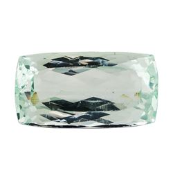 21.92 ct.Natural Rectangle Cushion Cut Aquamarine