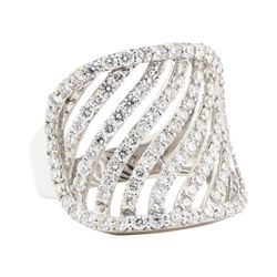 2.21 ctw Diamond Ring - 14KT White Gold