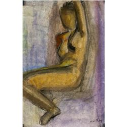 Man Ray American Modernist Pastel on Paper