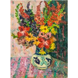 Henri Matisse French Fauvist Oil on Board
