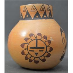 HOPI INDIAN POTTERY VASE (SIMMONS)