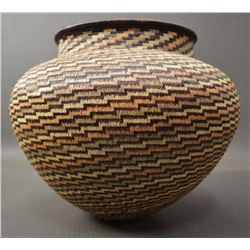 WOUNAAN RAIN FOREST BASKETRY OLLA (NILA MEMBACHE)