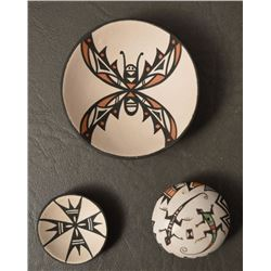 ACOMA INDIAN POTTERY ITEMS