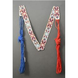 WOODLANDS INDIAN BEADED SASH