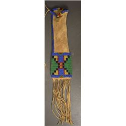 SIOUX INDIAN WOMAN'S TOBACCO BAG