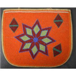 PLATUE INDIAN BEADED FLAT BAG