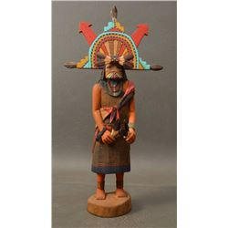 HOPI INDIAN KACHINA ( MERWIN BILAGODY)