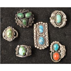 NAVAJO INDIAN RINGS