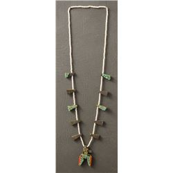SANTO DOMINGO INDIAN TAB NECKLACE