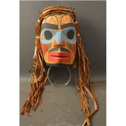 KWAKIUTL INDIAN MASK (VERONICA HACKETT)