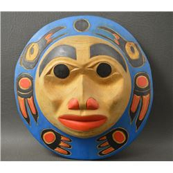 NORTH WEST COAST INDIAN MASK (WILLIE LOUIE)
