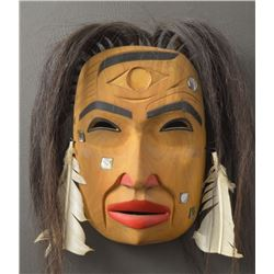 NORTH WEST COAST INDIAN MASK (PATRICK AMAS)