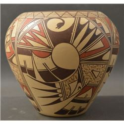 HOPI INDIAN POTTERY JAR (JOFERN SILAS PUFFER)