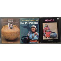 BOOKS ON PUEBLO INDIAN POTTERS